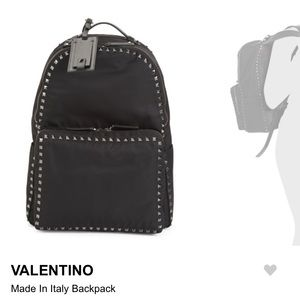 Brand new with tags authentic Valentino backpack
